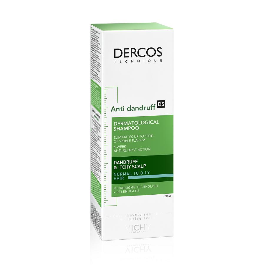 Şamponanti-mătreață pentrupărnormal-gras Dercos, 200 ml, Vichy