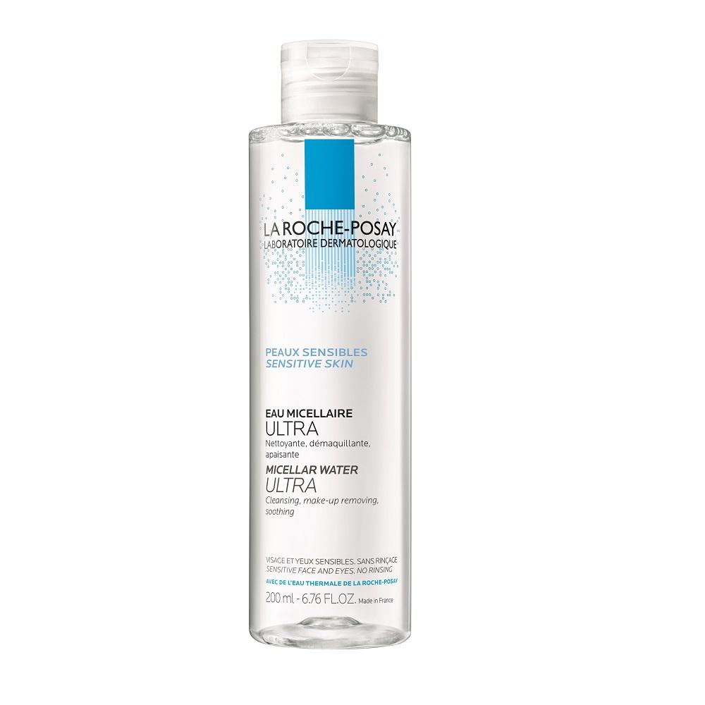Apă micelară pentru pielea sensibilă Ultra, 200 ml, La Roche-Posay
