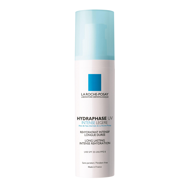 Cremă pentru ten deshidratat Hydraphase UV Intense Legere SPF 20, 50 ml, La Roche-Posay