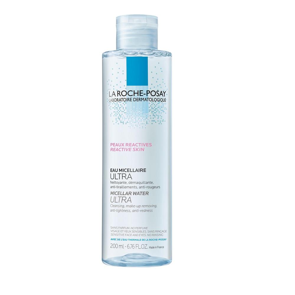 Apă micelară pentru pielea reactivă, hipersensibilă Ultra, 200 ml, La Roche-Posay