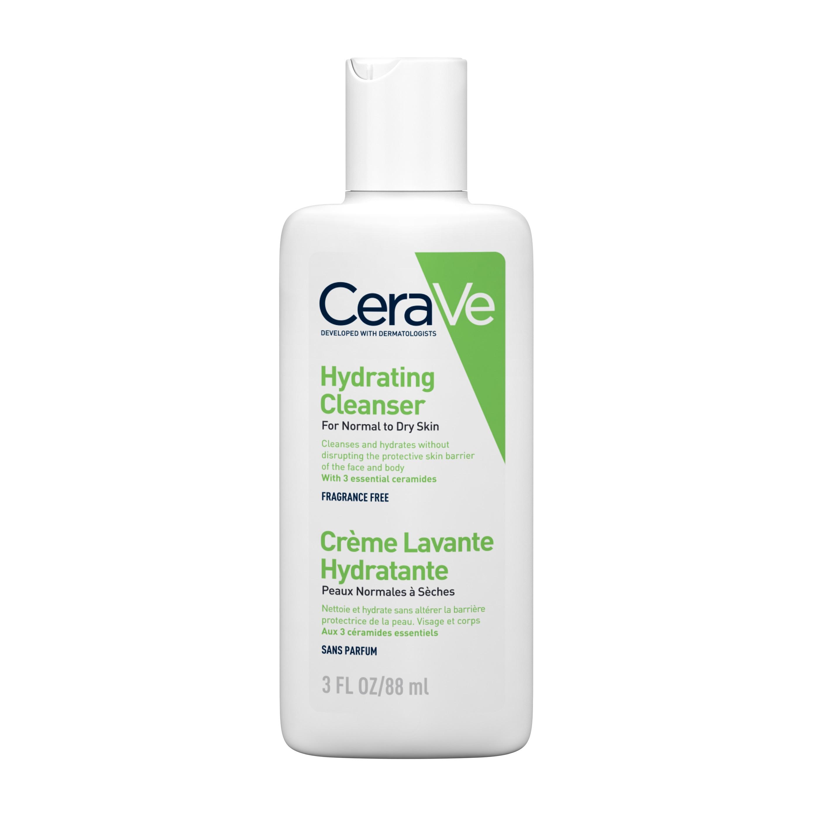 Gel de spălare hidratant pentru piele normal-uscată, 88 ml, CeraVe