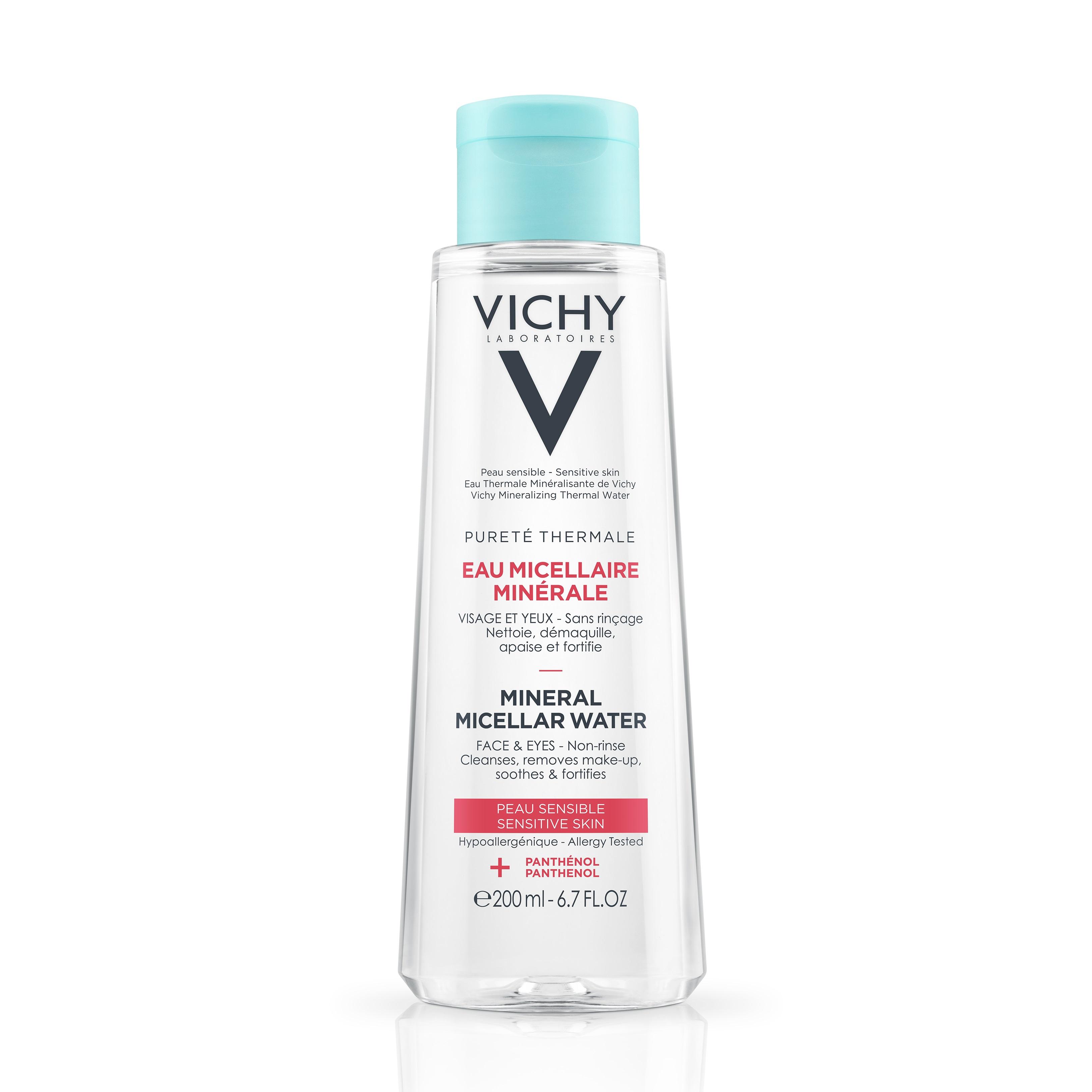 Apă micelară pentru piele sensibilă Puerte Thermale, 200 ml, Vichy