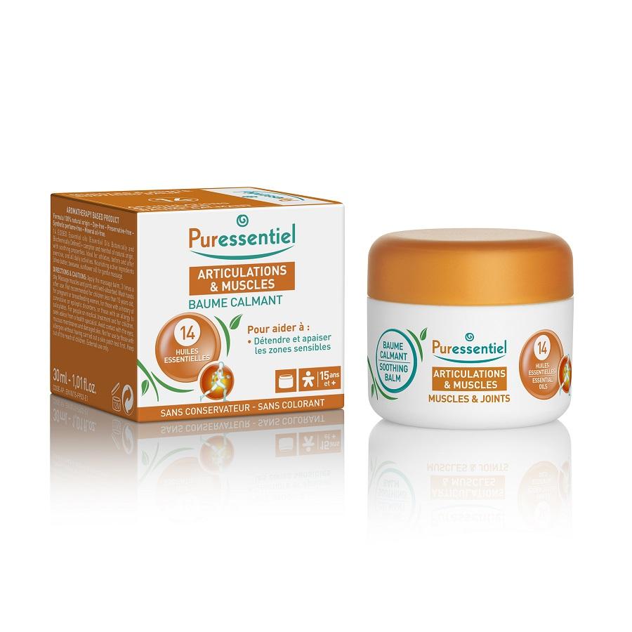 Unguent antireumatic cu 14 uleiuri esențiale, 30 ml, Puressentiel