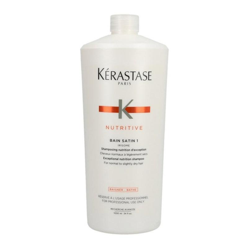 Șampon pentru păr normal sau uscat Nutritive Irisome Bain Satin 1, 1000 ml, Kerastase