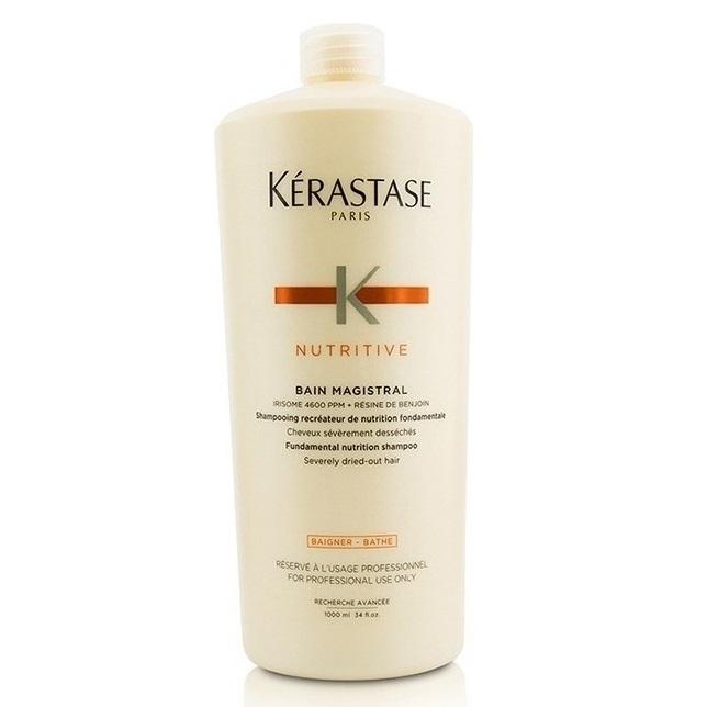 Șampon pentru păr foarte uscat Nutritive Bain Magistral, 1000 ml, Kerastase