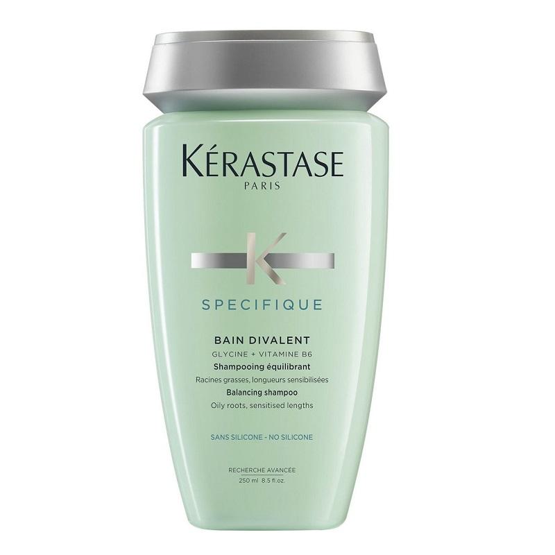 Șampon  echilibrant pentru rădăcini grase și lungimi sensibilizate Specifique Bain Divalent, 250 ml, Kerastase