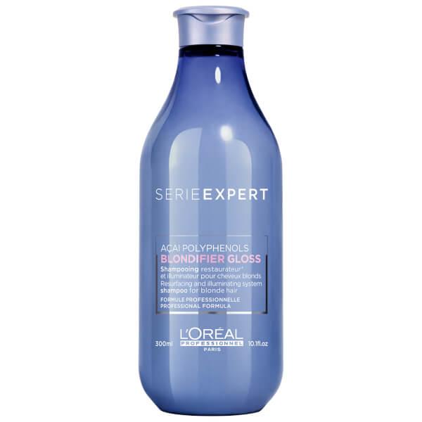 Sampon pentru stralucirea parului blond Serie Expert Blondifier Gloss, 300 ml, Loreal Professionnel