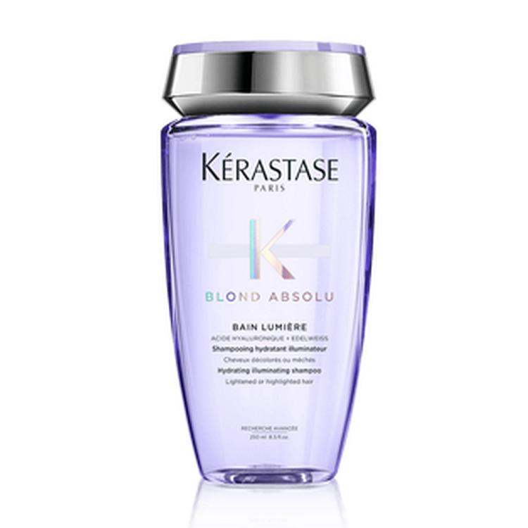 Sampon hidratant pentru par blond Blond Absolu Bain Lumiere, 250 ml, Kerastase
