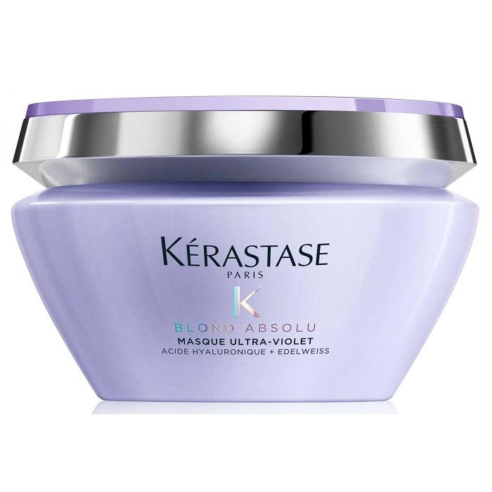 Masca violet pentru par blond Blond Absolu Masque Ultra-Violet, 500 ml, Kerastase