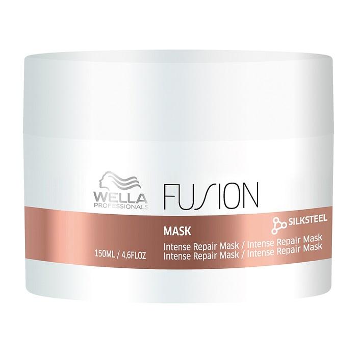 Masca pentru parul deteriorat Care Fusion, 150 ml, Wella Professionals