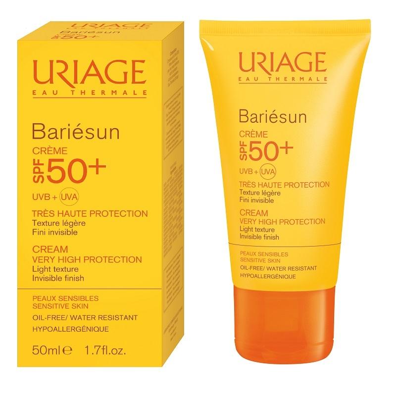 Cremă protecție solară SPF50+ Bariesun, 50 ml, Uriage