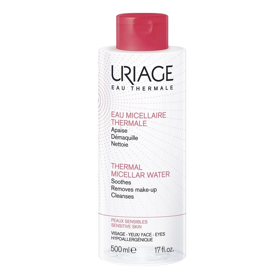 Apa micelară termală pentru piele intolerantă, 500 ml, Uriage