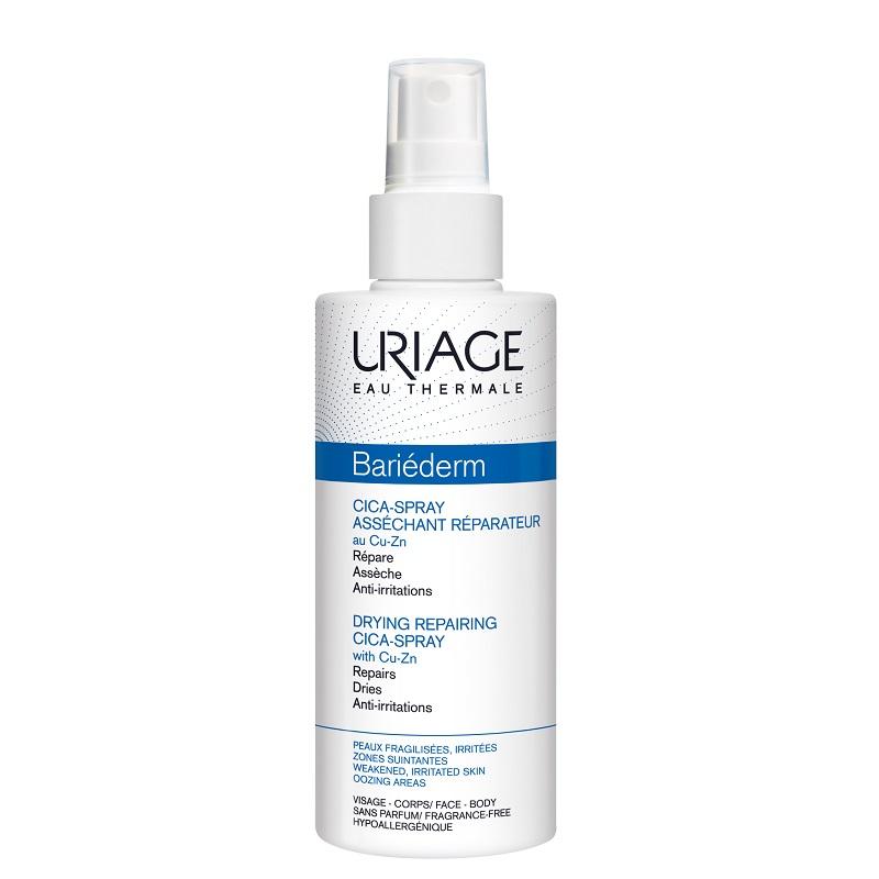 Spray reparator pentru pielea iritată Bariederm Cica, 100 ml, Uriage