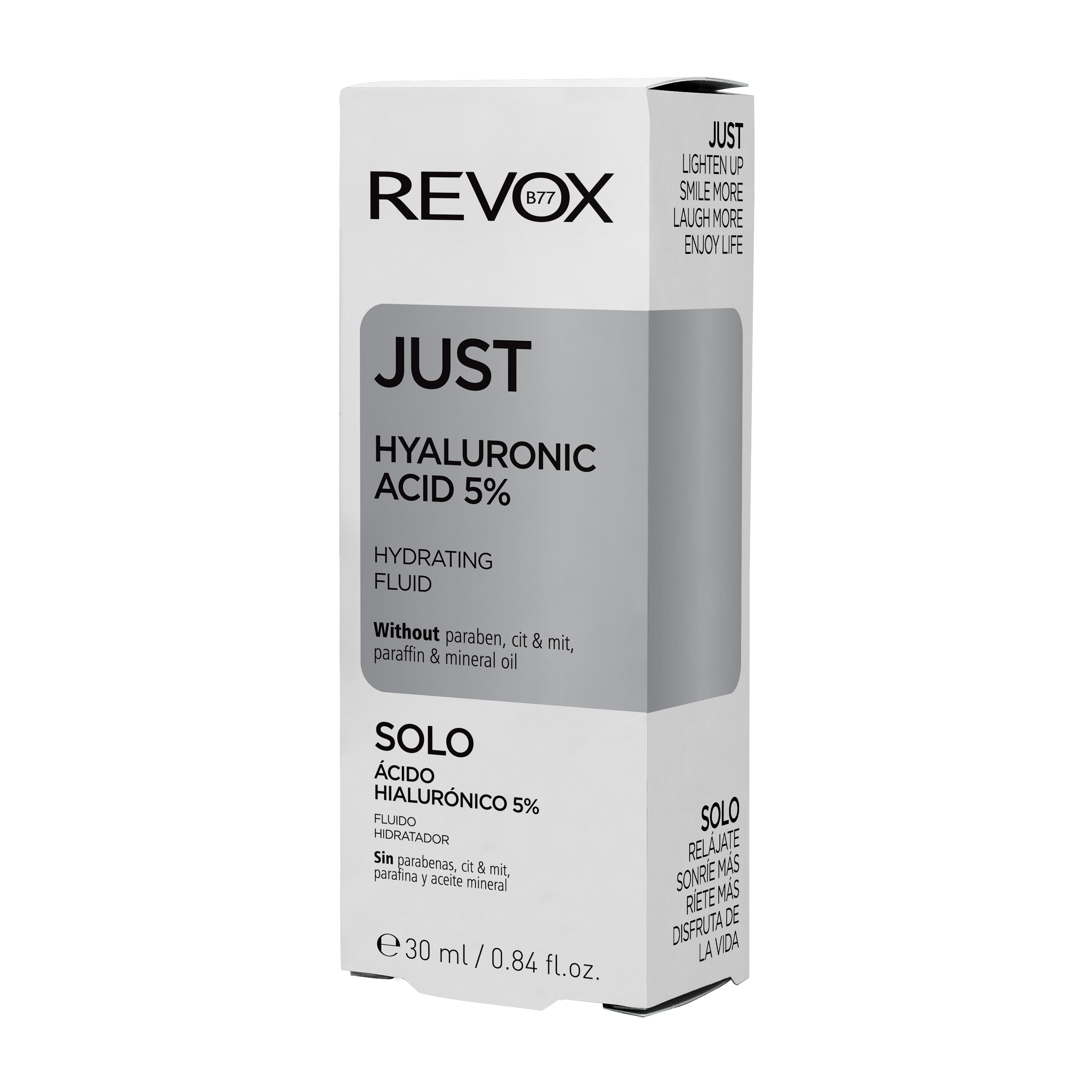 Acid hialuronic Just Hyaluronic Acid 5%, 30 ml, Revox