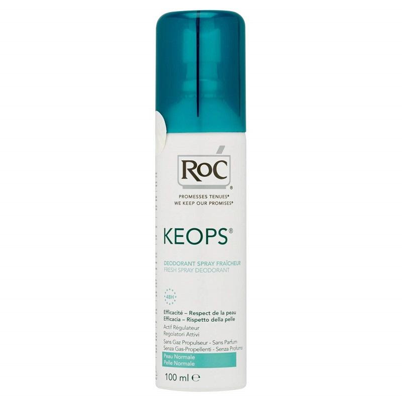 Deodorant spray Keops, 100 ml, Roc