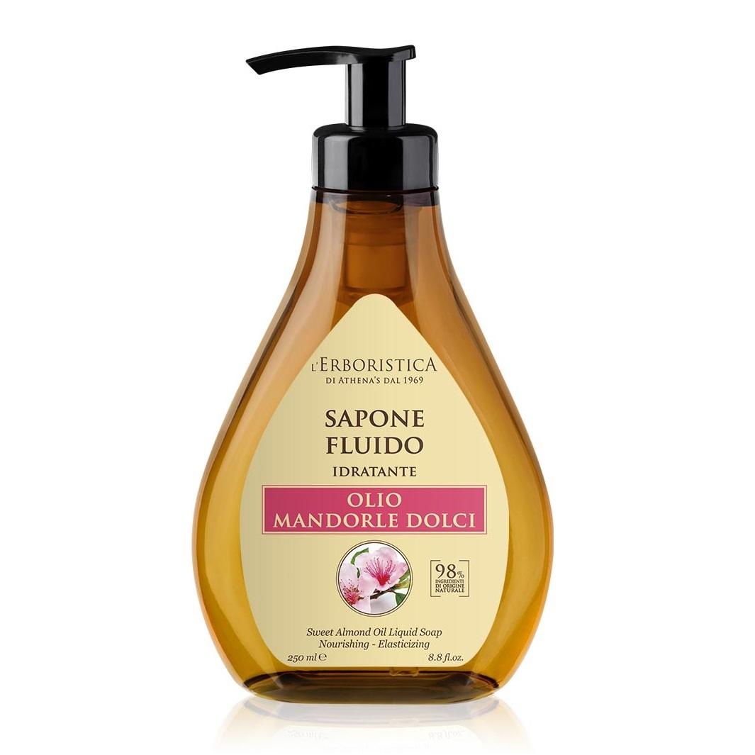 Săpun lichid cu ulei de migdale dulci, 250 ml, L'Erboristica