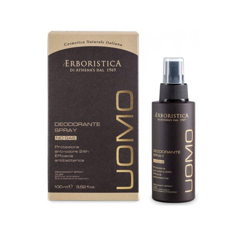Deodorant spray fără gaz Uomo, 100 ml, L'Erboristica