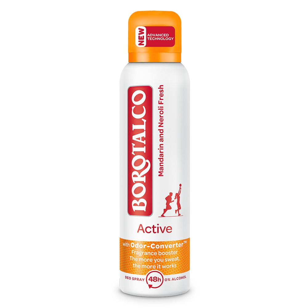 Deodorant spray Active Mandarine si Neroli, 150 ml, Borotalco