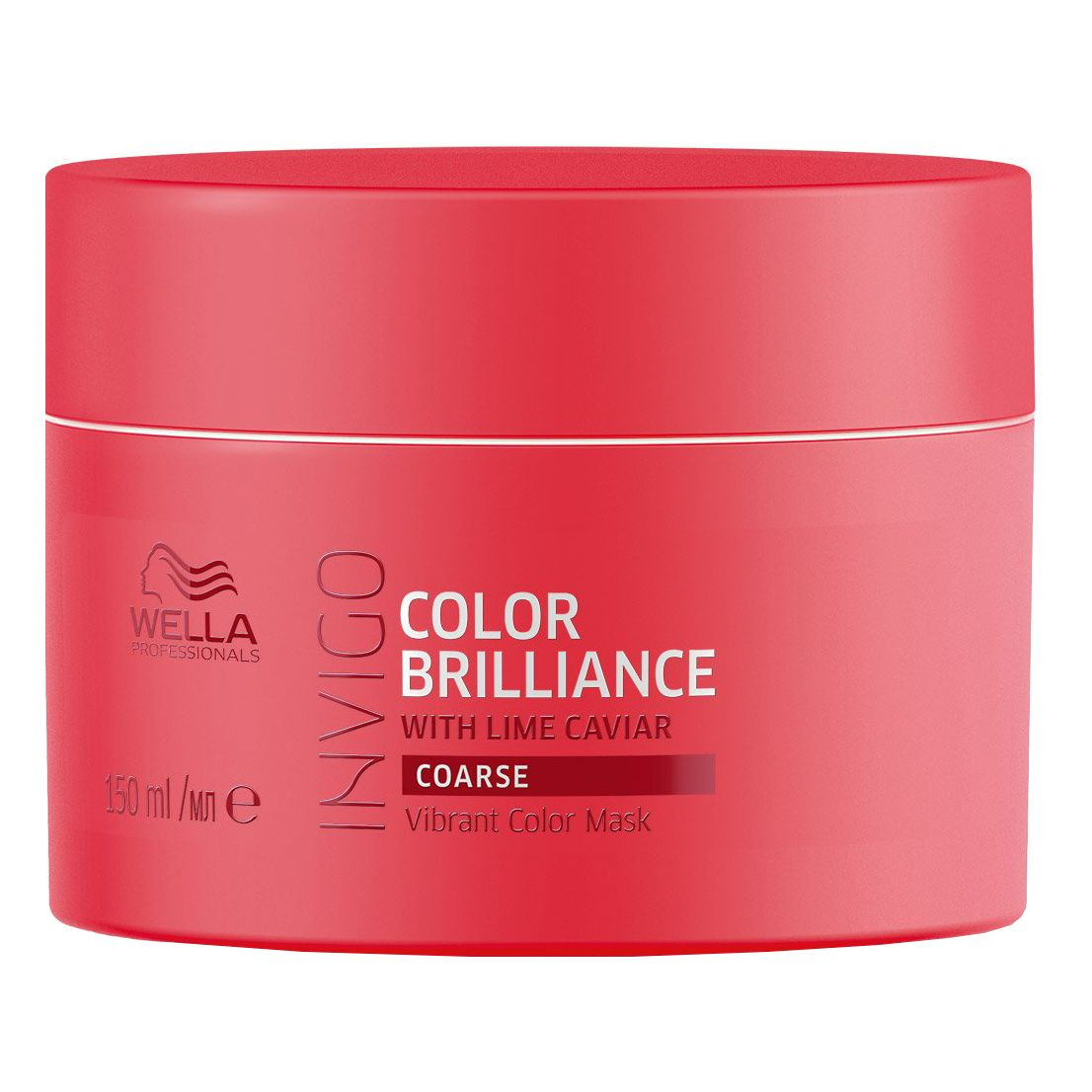Masca pentru par vopsit Invigo Color Brilliance Coarse, 150 ml, Wella Professionals