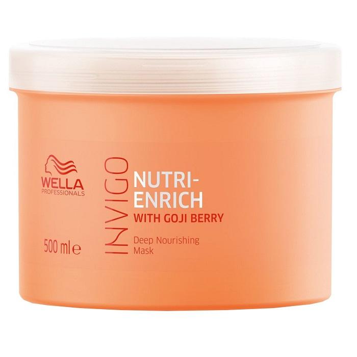 Masca pentru par uscat Invigo Nutri Enrich, 500 ml, Wella Professionals