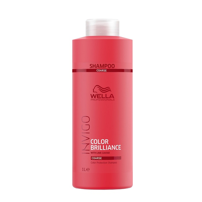 Sampon pentru par vopsit Invigo Color Brilliance Coarse, 1000 ml, Wella Professionals
