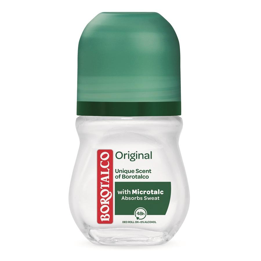 Deodorant roll-on Original, 50 ml, Borotalco