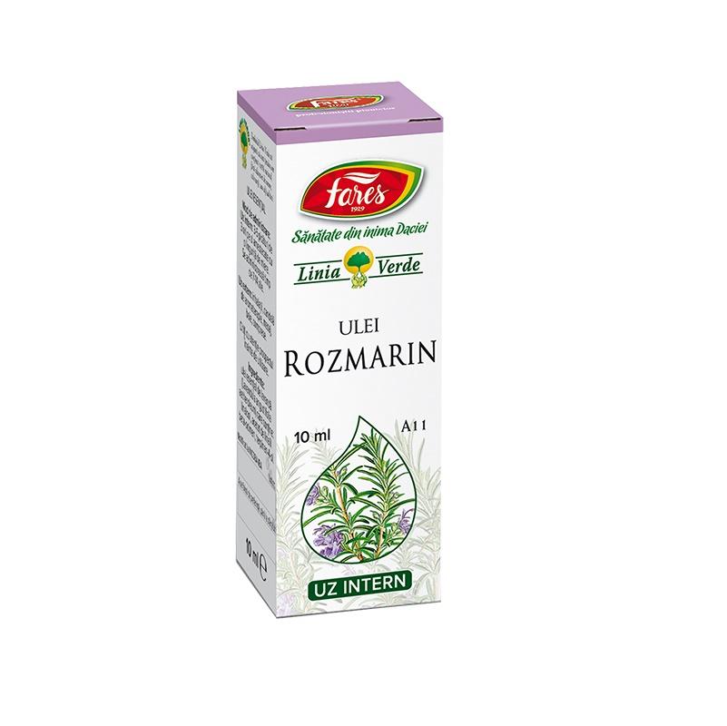 Ulei esențial de Rozmarin, A11, 10 ml, Fares
