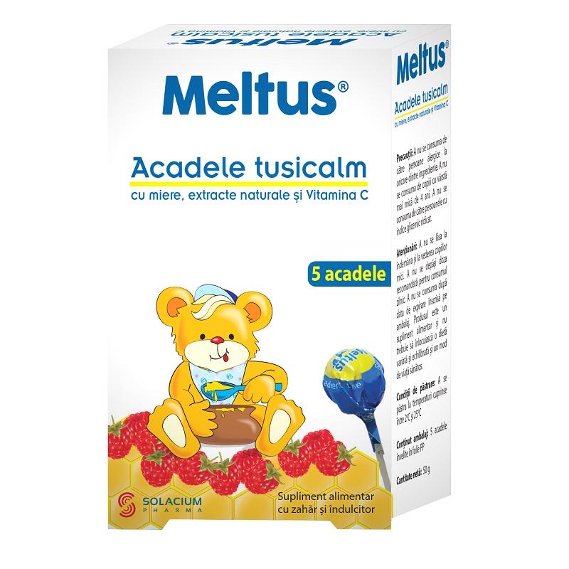 LolliTus Meltus, 5 acadele, Solacium Pharma