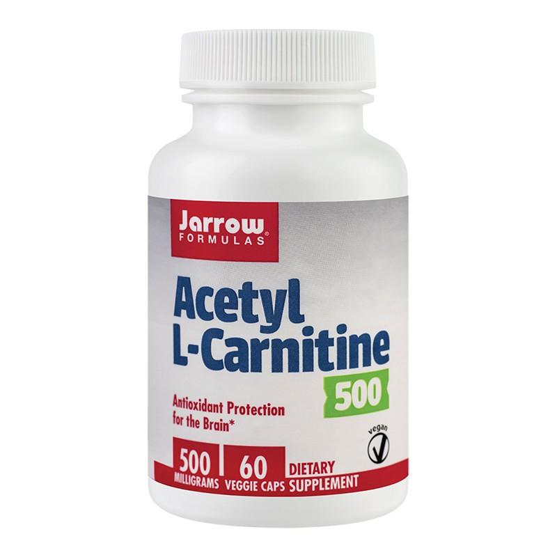 Acetyl L-Carnitine 500mg Jarrow Formulas, 60 capsule, Secom