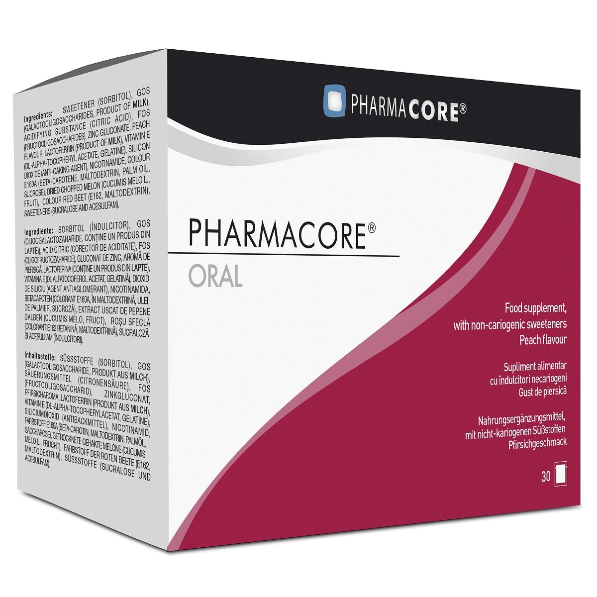 Supliment Oral Acne Control 90 mg, 30 plicuri, Pharmacore