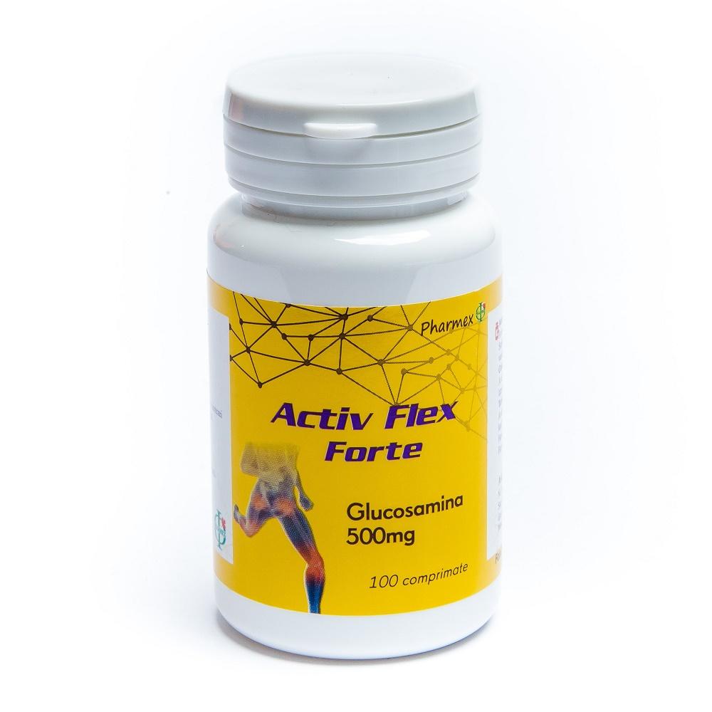 Activflex Forte, 100 comprimate, Pharmex