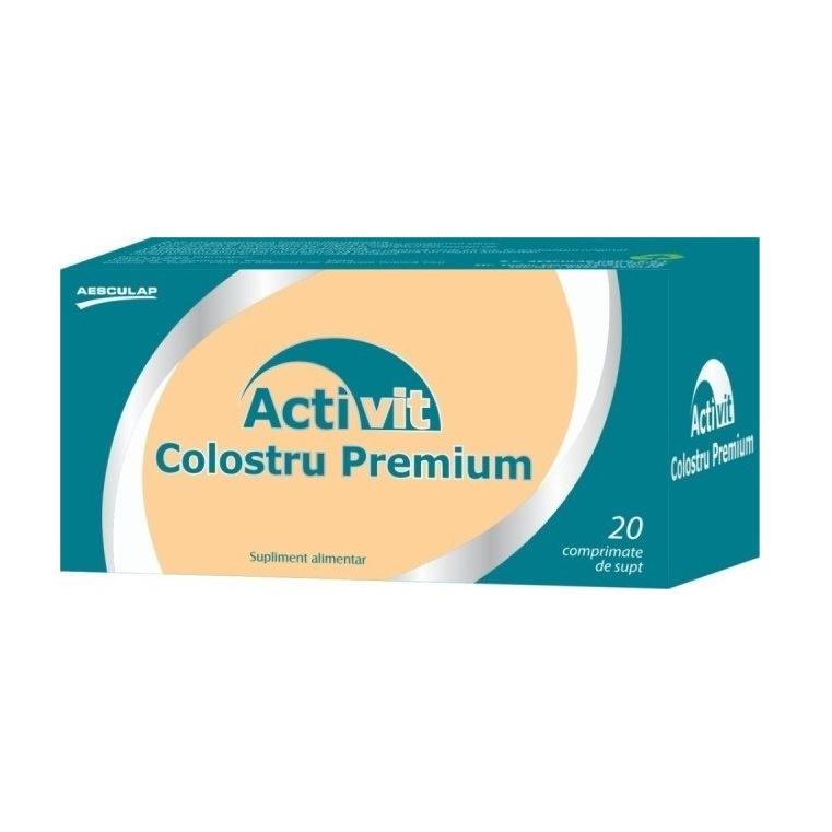 Activit Colostru Premium, 20 comprimate, Aesculap