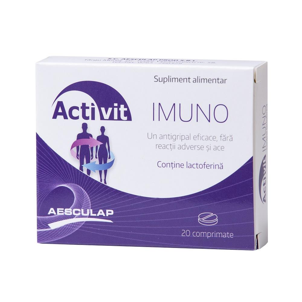 Activit imuno, 20 comprimate, Aesculap