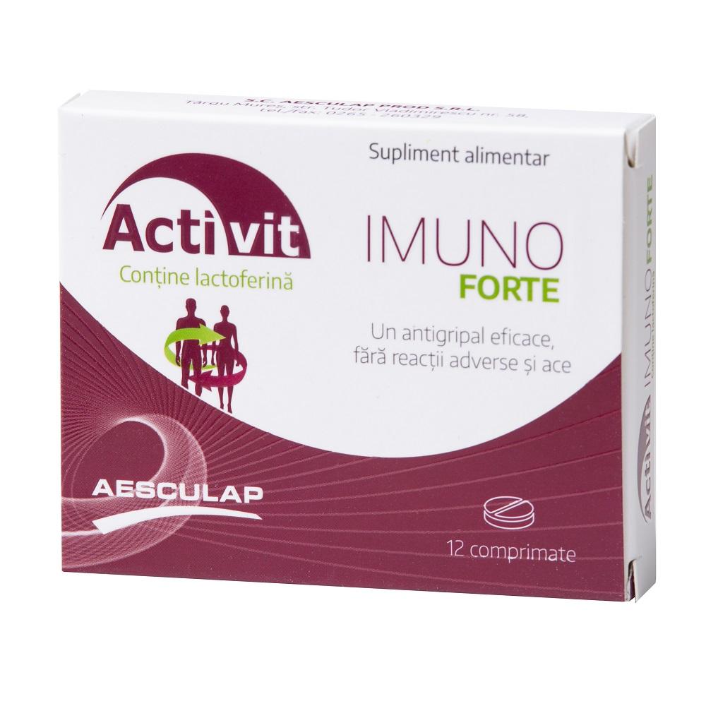 Activit Imuno Forte, 12 comprimate, Aesculap