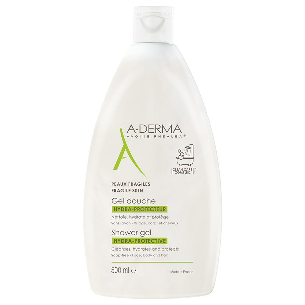 Gel de duș ultra-protector cu lapte de ovăz, 500 ml, A-Derma