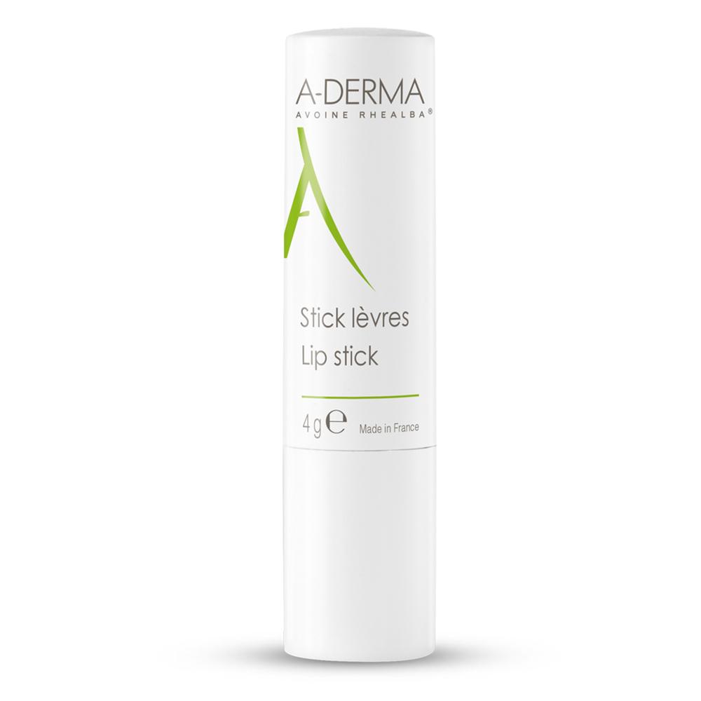 Stick de buze hidratant, 4 g, A-Derma