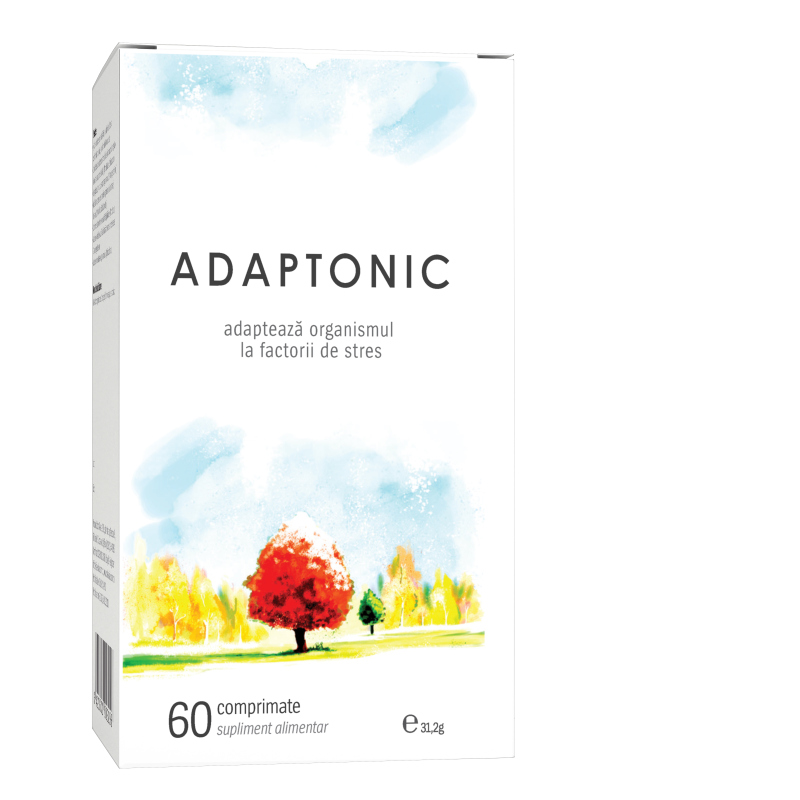 Adaptonic, 60 comprimate, Alevia