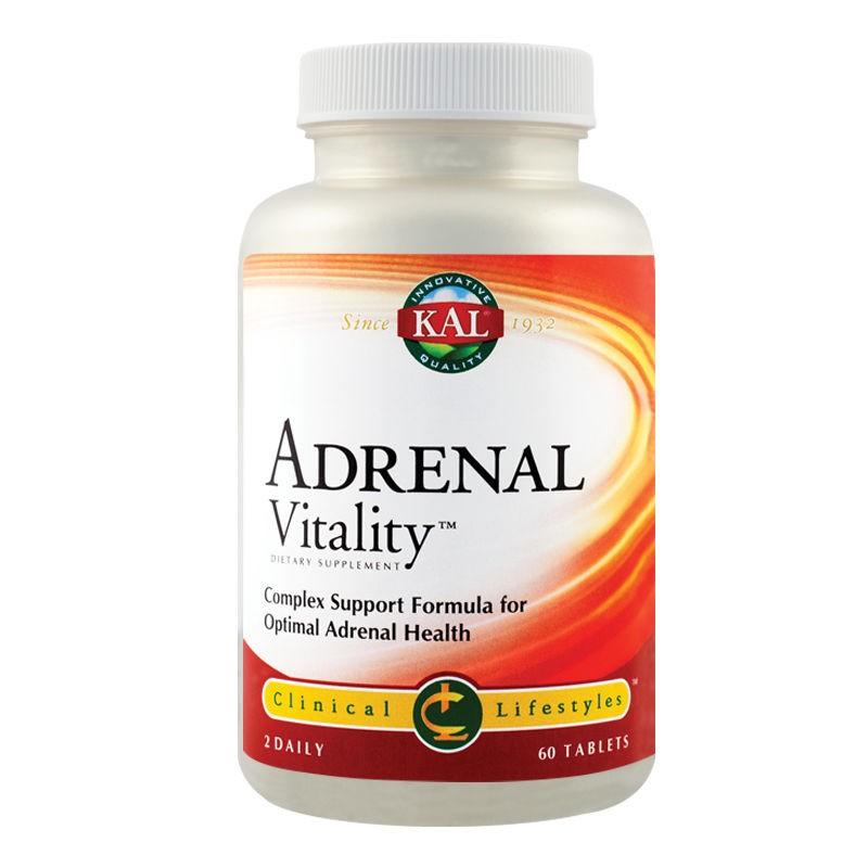 Adrenal Vitality Kal, 60 tablete, Secom