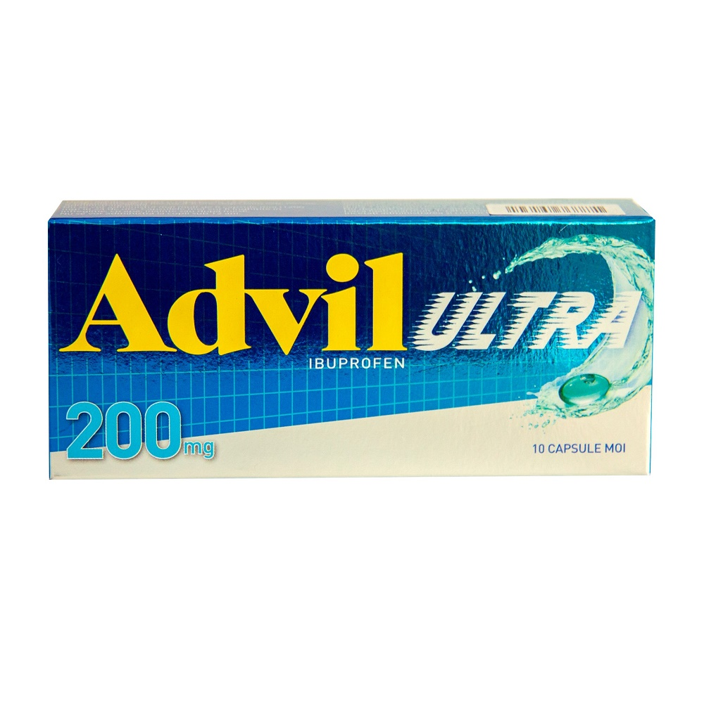 Advil Ultra, 10 capsule moi, Gsk
