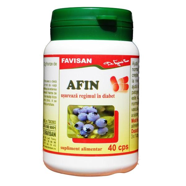 Afin, 40 capsule, Favisan