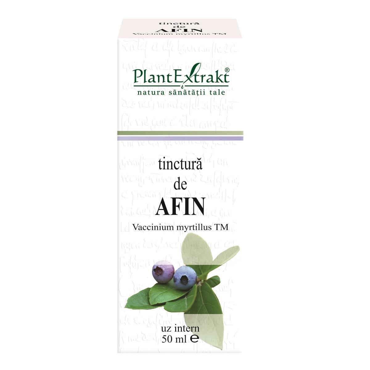 Tinctură de Afin, 50 ml, Plant Extrakt