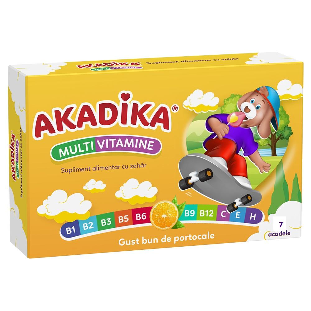 Acadele Multivitamine Akadika, 7 acadele, Fiterman Pharma