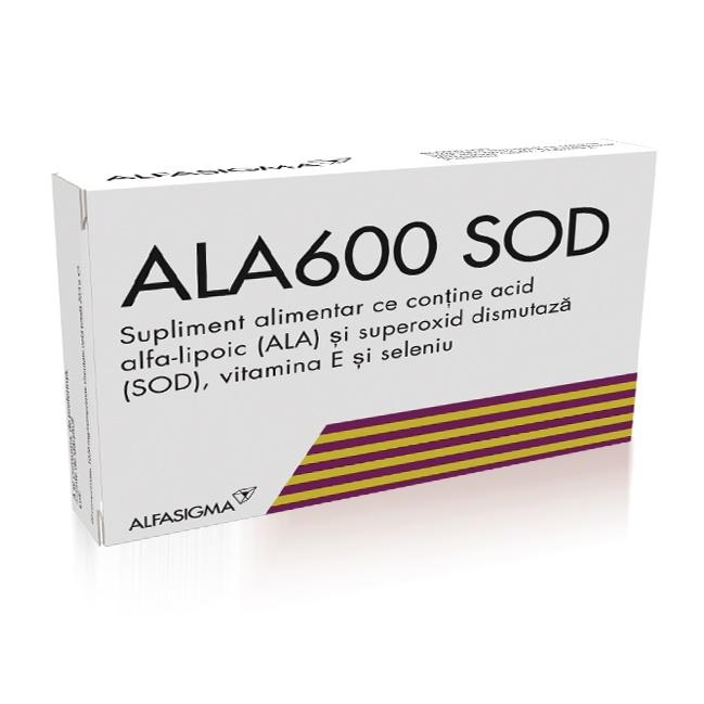 Ala600 SOD, 20 comprimate, Alfasigma