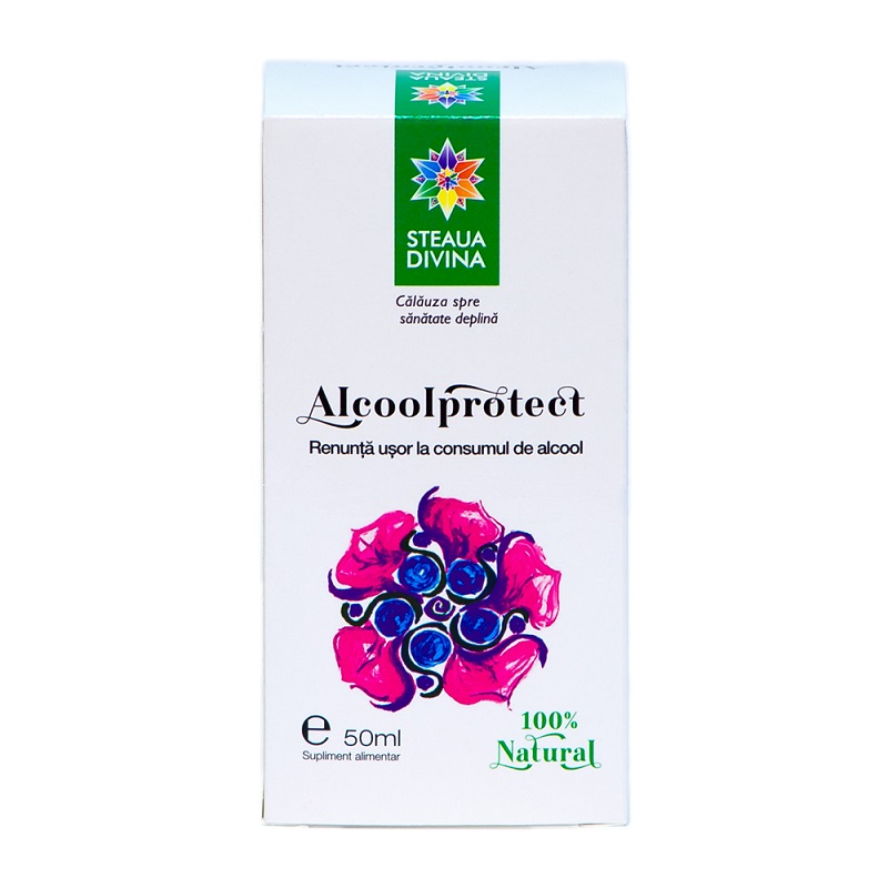 Alcoolprotect extract hidroalcoolic, 50 ml, Steaua Divina
