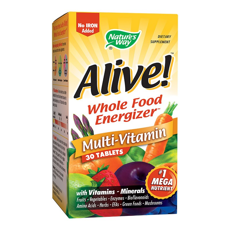 Alive Nature's Way, 30 tablete, Secom