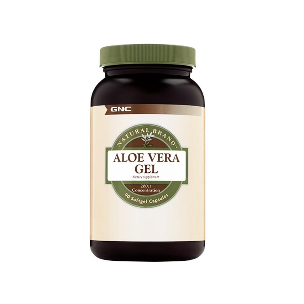 Aloe Vera Gel Natural Brand (579166), 90 capsule, GNC