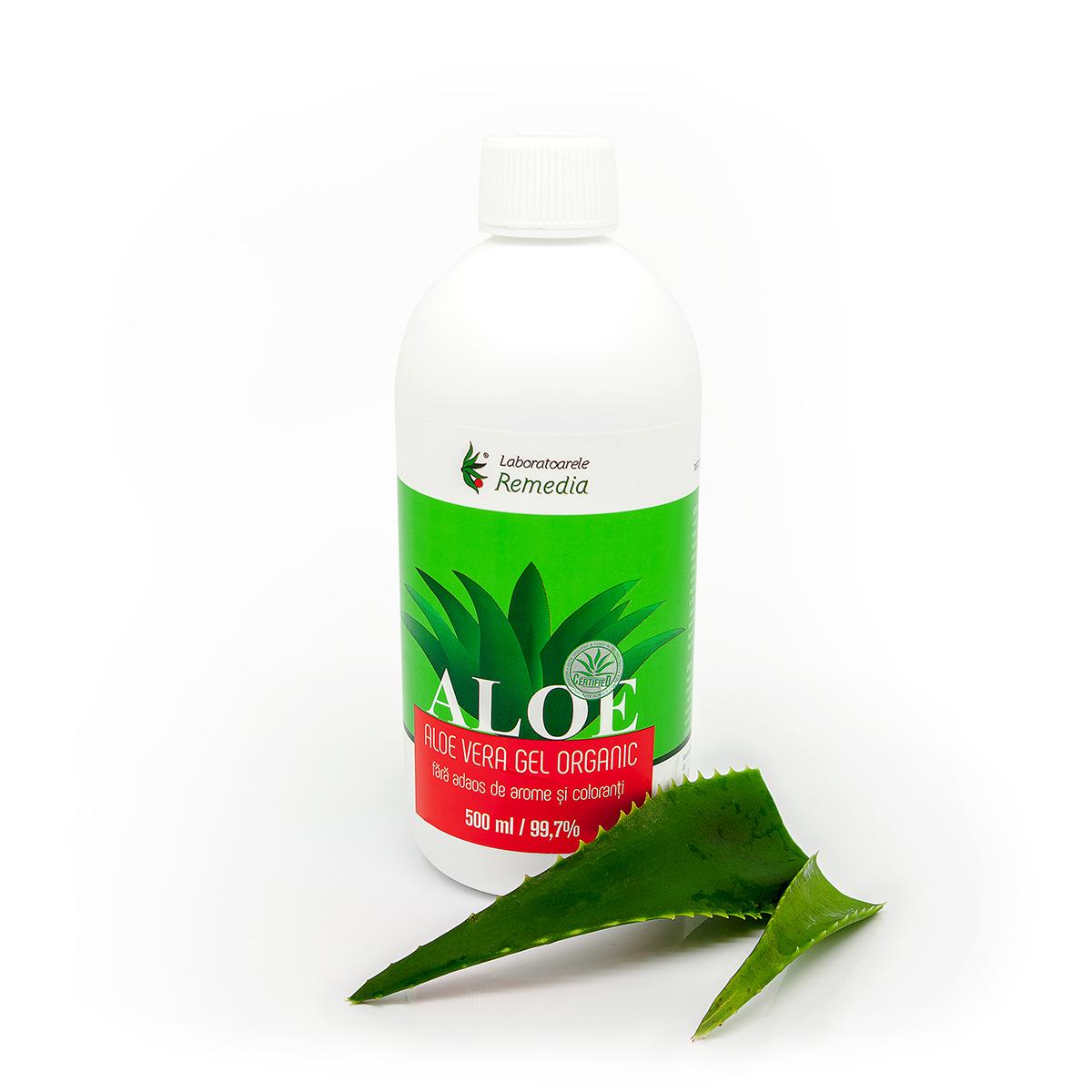 Gel natural de Aloe Vera, ml, Remedia : Farmacia Tei