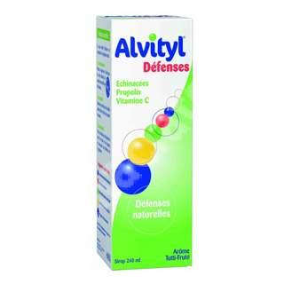 Alvityl Defences Sirop, 240 ml, Urgo