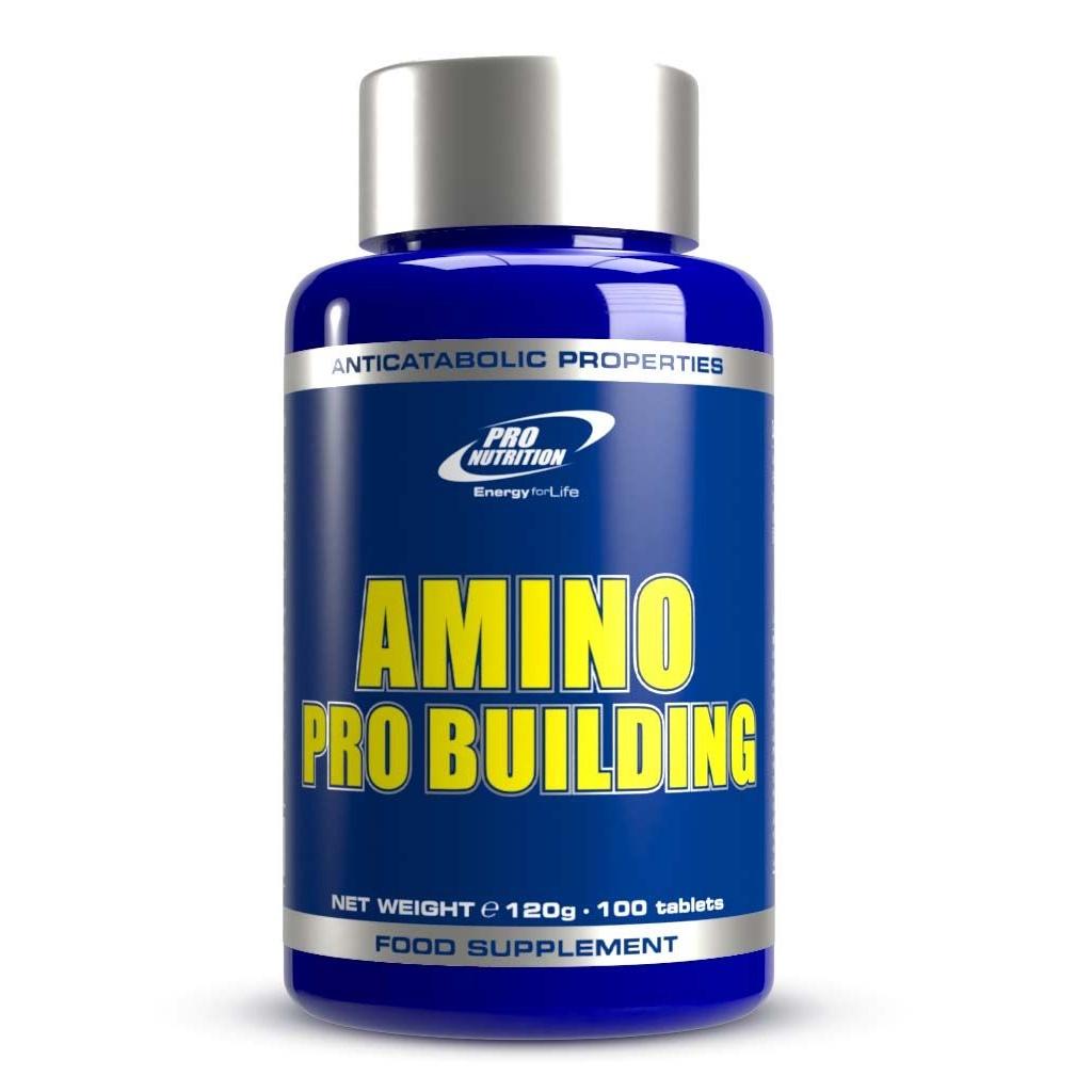 Amino Pro Building, 100 tablete, Pro Nutrition