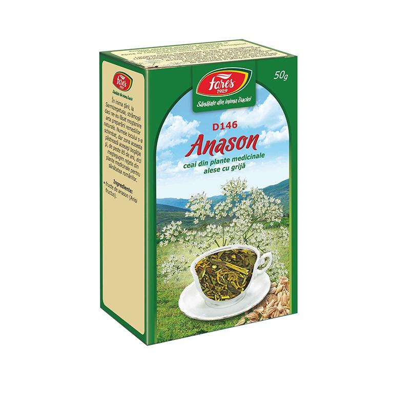 Ceai Anason fructe, D146, 50 g, Fares